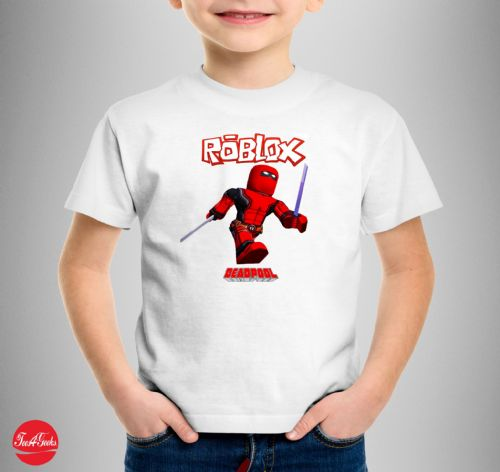 Deadpool Roblox Kids T-shirt